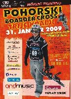 Plakat boardercros 2009